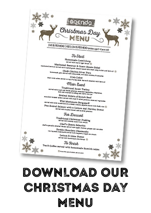 Christmas Day Menu Download